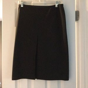 A line skirt , knee length